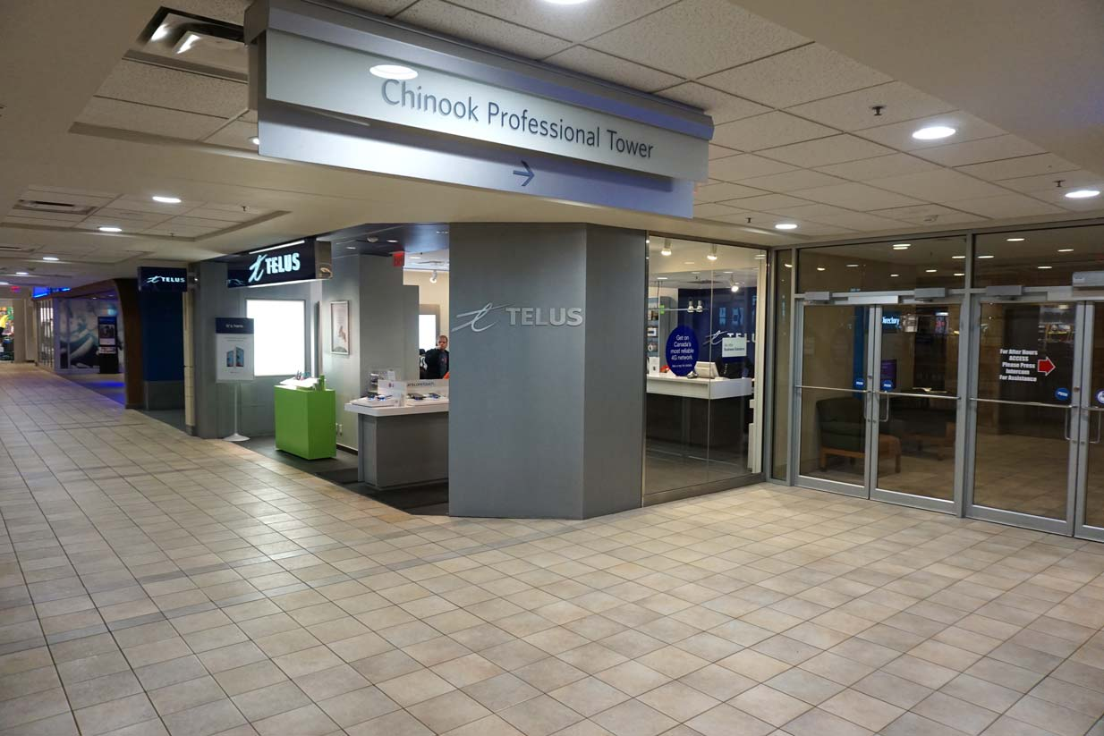 Chinook Family Dental | Professional Tower Entrance
